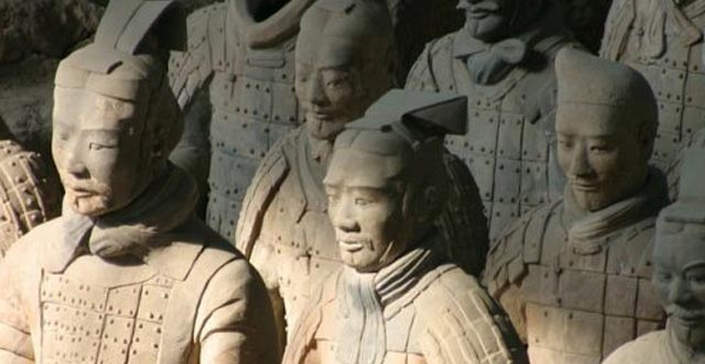 china guerreros terracota